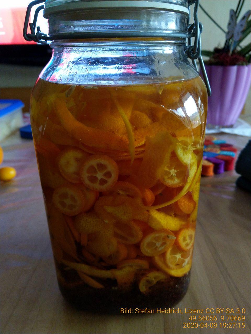 Rezepte Orangenlikör